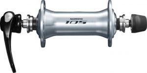 Втулка передня Shimano 105 HB-5800 32 отвори Срібний