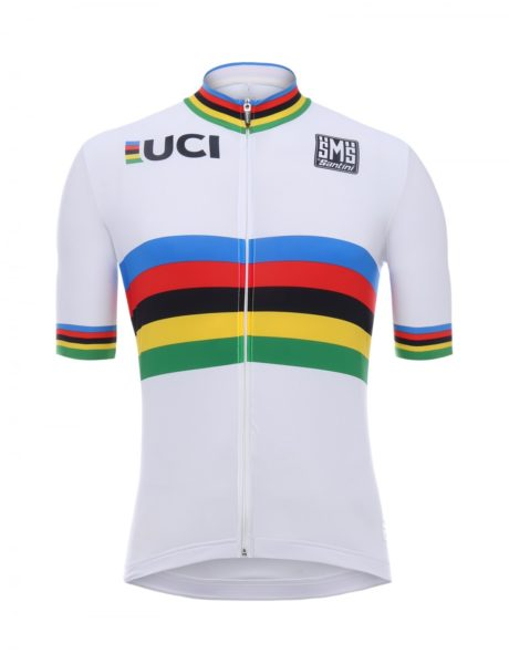 Веломайка SANTINI UCI WORLD CHAMPION S/S JERSEY