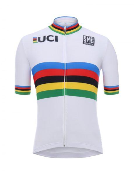 ВеломайкаSANTINI UCI WORLD CHAMPION S/S JERSEY