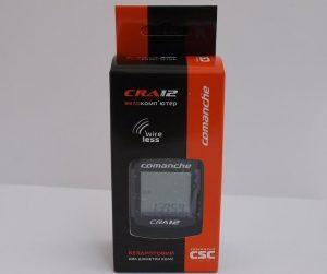 Велокомпьютер CSC COMANCHE CRA 12 черный