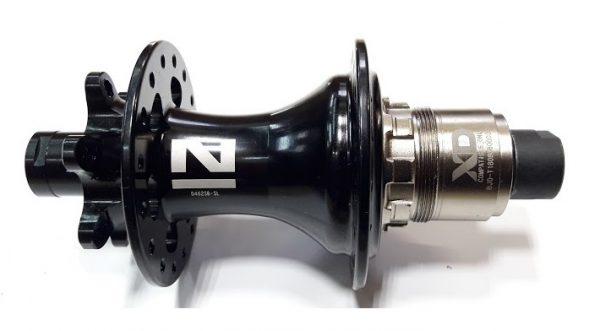 Втулка задняя Novatec D462SB-SL-S5S-S11-12х142 32 черный