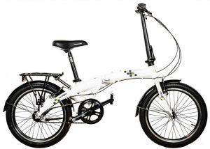 Велосипед складной COMANCHE LAGO S3 White