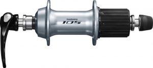 Втулка задня Shimano 105 FH-5800 32 отвори сріблястий