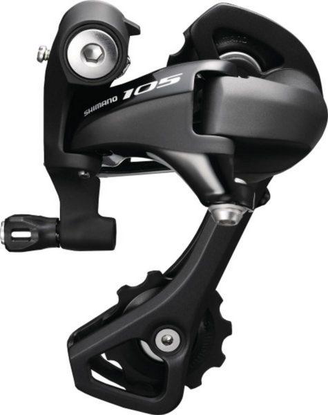 Перемикач задній Shimano 105 RD-5800GSL 11 швидкостей середній важіль чорний