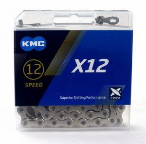 ЛАНЦЮГ KMC X12 126L срібрібний