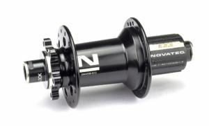 Втулка задняя Novatec XD642SB/A-ABG-B12-12х148, 32, черный Boost