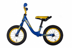 Беговел Comanche Pixel , 12, синий-желтый